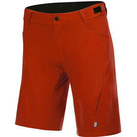 Protective P-Valley Cycling Shorts Men, fire red